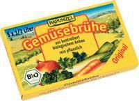 Kostki warzywne (żółte) bio-rapunzel