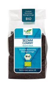 Sezam czarny bio 250 g - bio planet