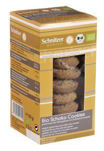 Ciasteczka czekoladowe bio b/g 150 g - schnitzer