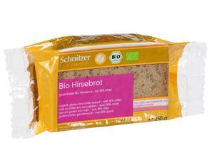 Chleb bezglutenowy z prosa bio 250 g - schnitzer