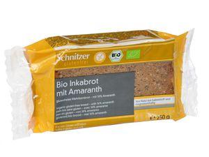 Chleb inków z amarantusem bio b/g 250 g - schnitz