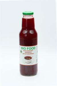 Barszcz czerwony wegetariański bio 750ml-bio food