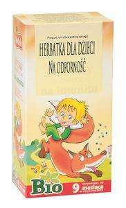 Herbata dla dzieci-na odporność bio 20x1,5g-apothe