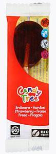 Lizaki smak truskawkowy bio 13g-candy tree