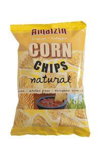 Chipsy kukurydziane solone bio 150 g - amaizin
