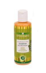 Ajurwedyjski szampon do włosów imbir i trawa cytrynowa