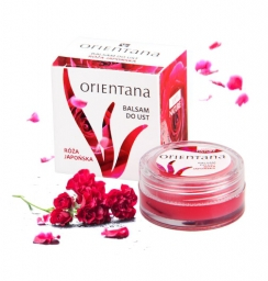 Balsam do ust - róża japońska