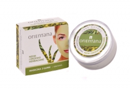 Maseczka z glinki neem i drzewo herbaciane