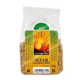 Sezam z naturalną skórką bio