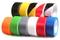 Taśma oznaczeniowa PVC czerwona 50/33/017