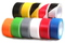 Taśma oznaczeniowa PVC czarna 50/33/017