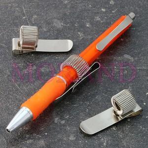 Uchwyt clip ze sprężynką na długopis 40x11