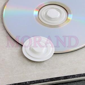 Uchwyt samoprzylepny na CD DVD 35 biały