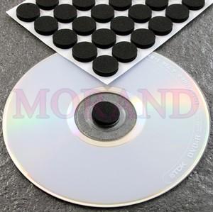 Uchwyt samoprzylepny na CD DVD 16 czarny