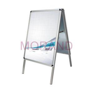 Aluminiowy stojak do plakatów A2