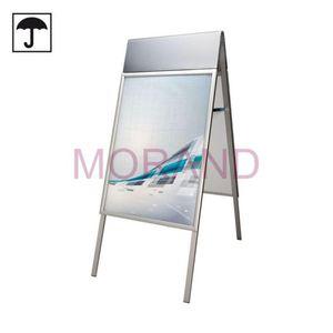 Aluminiowy stojak do plakatów A2 odporny na wilgoć