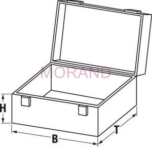 Aluminiowa walizka TS