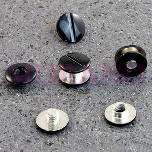 Śruba introligatorska metalowa czarna 3