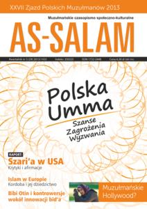 """Muzułmańskie czasopismo społeczno-kulturalne """"As-Salam""""/ kwartalnik nr 3 (29) 2013/1435"""