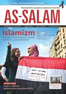 """Muzułmańskie czasopismo społeczno-kulturalne  """"As-Salam""""/ kwartalnik nr 2 (31) 2014/1435"""