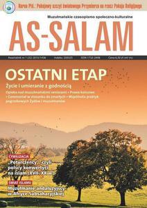 """Muzułmańskie czasopismo społeczno-kulturalne  """"As-Salam""""/ kwartalnik nr 1 [32] 2015/1436"""
