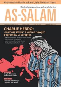 """Muzułmańskie czasopismo społeczno-kulturalne """"As-Salam"""" nr 2 [33] 2015/1437"""