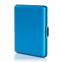 Portfel Aluminiowy Ogon Designs Blue Bill & Paper