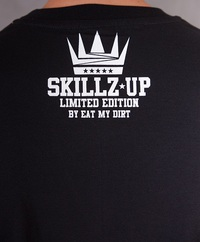 T-Shirt EAT MY DIRT Skillz Up (czarny)