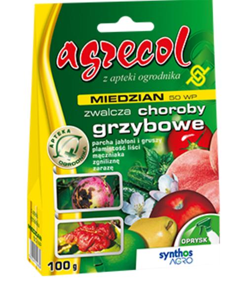 Miedzian 50 Wp 100g środek Grzybobójczy Parcha Zaraze Fungicydy