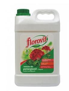 FLOROVIT 2,5L  DO PELARGONII i INNY KWIATÓW