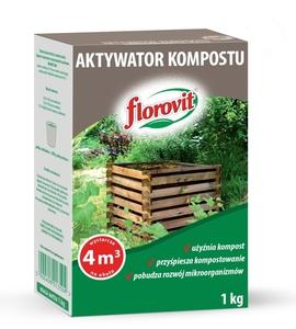 FLOROVIT AKTYWATOR KOMPOSTU 1kg KOMPOSTER