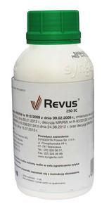 REVUS 250 SC  50ml  środek grzybobójczy  ZARAZA ziemniaka pomidora