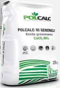 POLCALC WAPNO GRANULOWANE 25kg KREDA