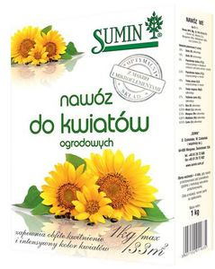Sumin nawóz do kwiatów ogrodowych 1kg