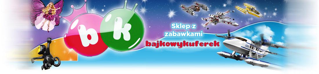 Sklep z zabawkami dla dzieci Bajkowy Kuferek