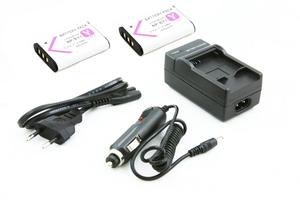 2x Akumulator NP-BY1 + ŁADOWARKA SONY HDR-AZ1 AZ1