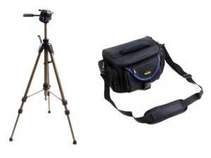 Zestaw STATYW + TORBA / Uniwersalny do aparatów DSLR oraz Kamer