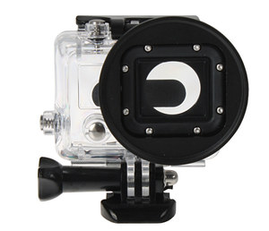Adapter filtrowy do GoPro HERO 3 + filtr UV 58mm