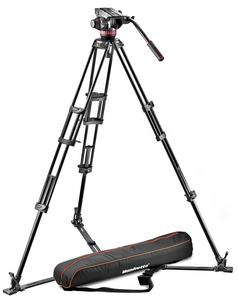 Manfrotto MVH502A,546GB-1 Zestaw Statyw 546GB + Głowica 502A + Torba