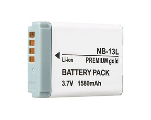 Premium Gold Akumulator NB-13L 1580mAh (Canon)