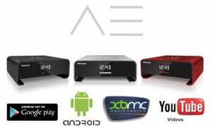 AMIKO A3 DVB-S2 Android 4.2 Jelly Bean + XBMC