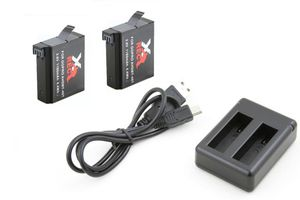 2x Akumulator / Bateria + Ładowarka USB do AHDBT-401 do kamer GoPro HERO 4