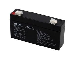 akumulator żelowy AGM Vipow 6V 1,3Ah
