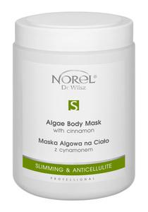 Norel - Slimming Anticellulite  Maska algowa na ciało z cynamonem (1000 ml)