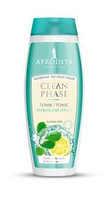 AFRODITA Clean Phase - Tonik bezalkoholowy dla skóry od normalnej po tłustą 200 ml