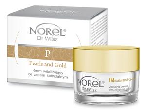 Norel Pearls and Gold Krem witalizujący ze złotem koloidalnym 50 ml