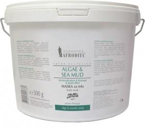 Kozmetika AFRODITA maska algi i błoto morskie 500 g
