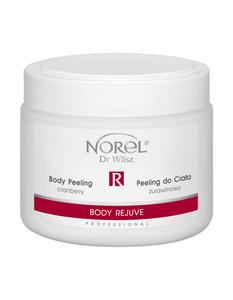 NOREL Body Rejuve  Peeling do ciała żurawinowy 500 ml