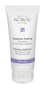 NOREL Peeling szafirowy New Skin  PROF efekt mikrodermabrazji PP 182