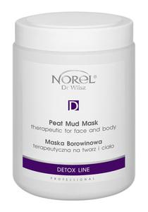 NOREL Detox Line  Maska borowinowa terapeutyczna na twarz i ciało 1000 ml
